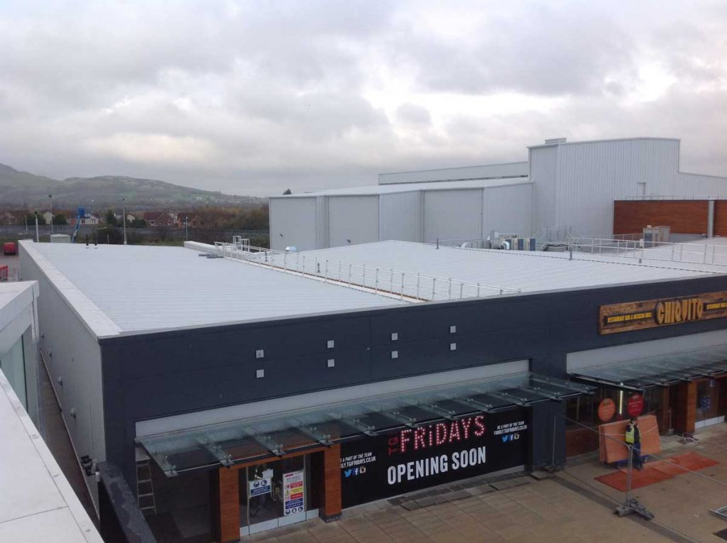 Fort Kinnaird Retail Park Price Roofing
